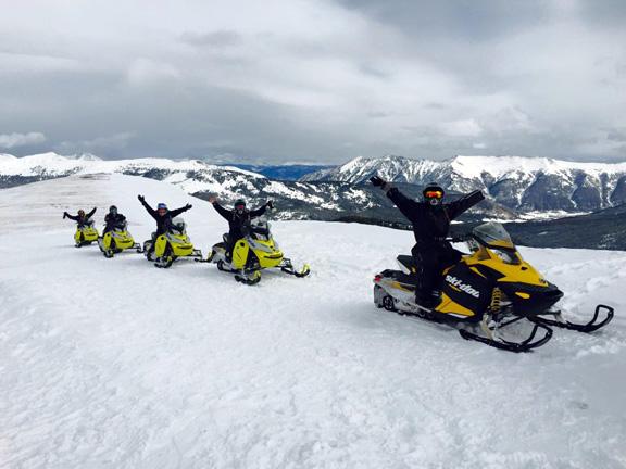 Snowmobiling Tours & Rental